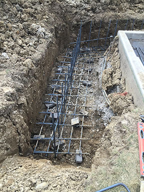Screw Pile Amp Rebar Installed Midwest Foundation Tech Inc